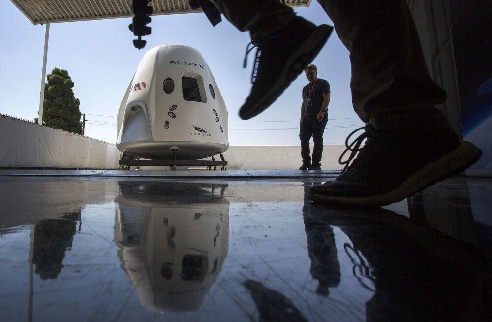 SpaceX-i kosmosekapslid ei ole võimelised täitma mitut välja lubatud funktsiooni
