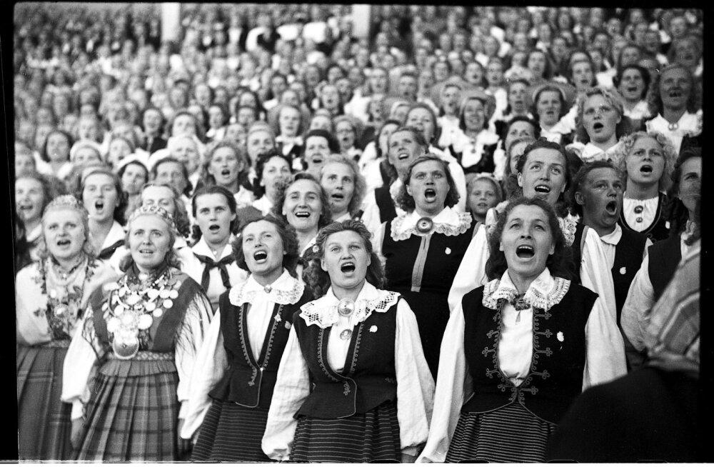 Laulupidu, 1955