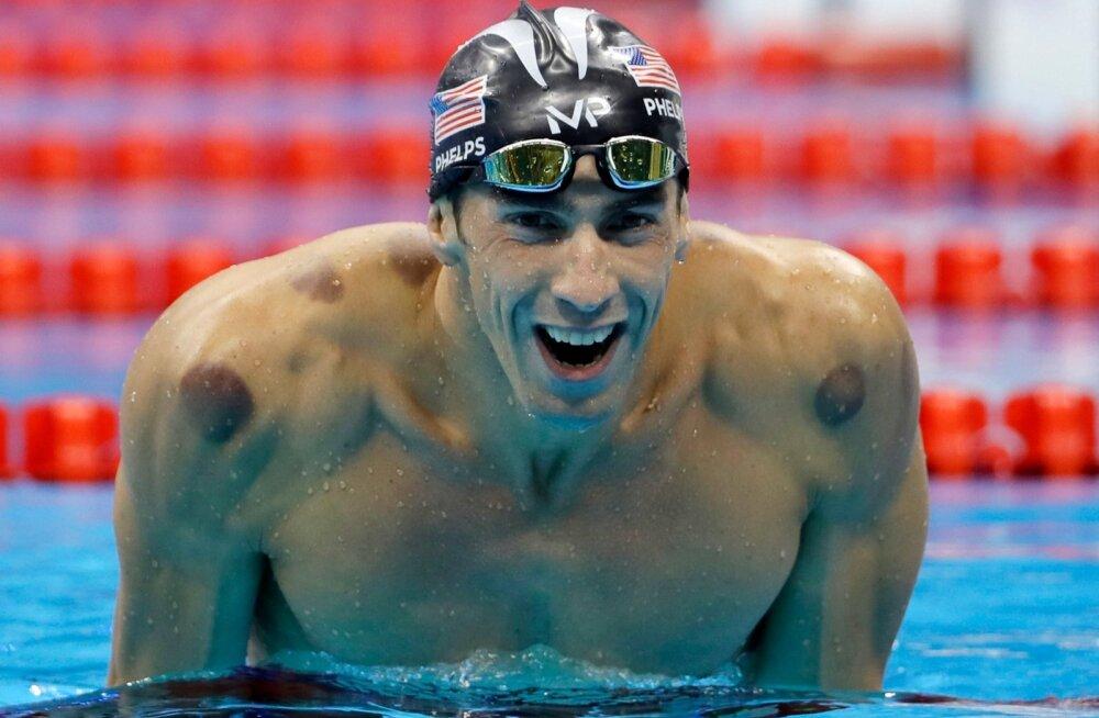 USA ujuja Michael Phelps