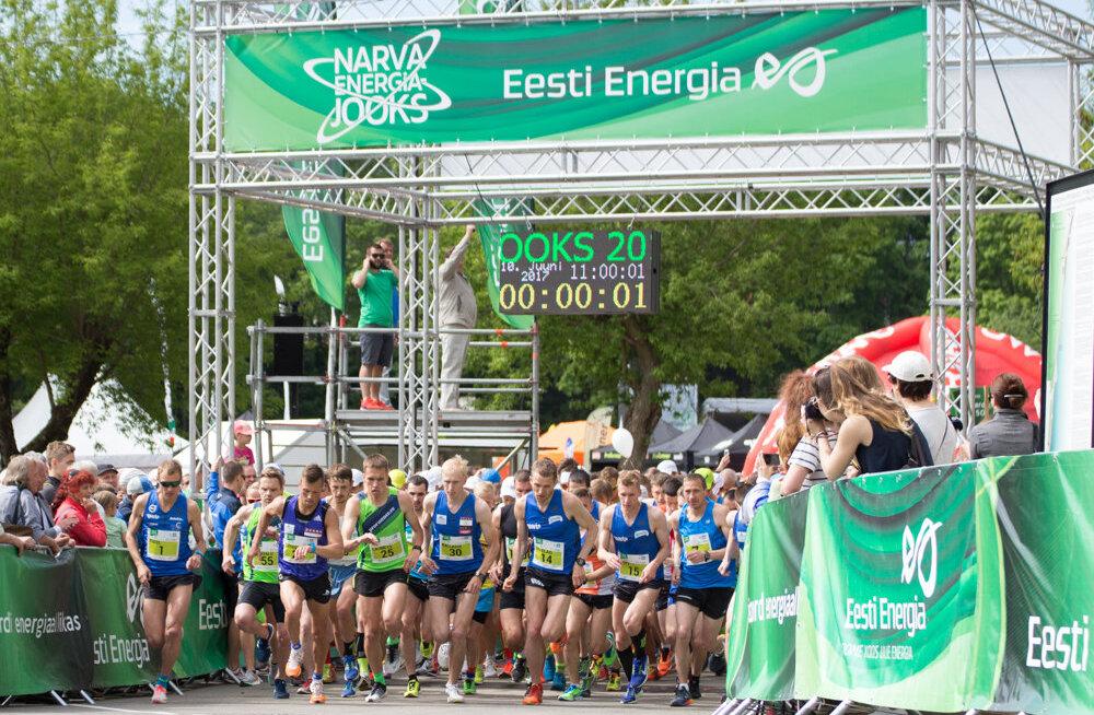 Narva Energiajooksul võetakse sihikule mitmed rekordid