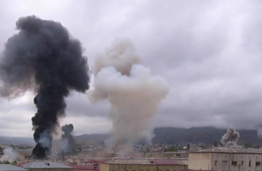 Aserbaidžaani kaitseminister käskis vastata suure purustusjõuga relvadega, kui Armeenia kasutab rakette Iskander