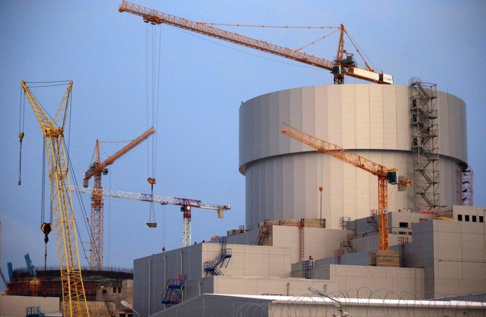 Leningradi oblastis Sosnovõi Boris alustas täna tööd uus tuumareaktor