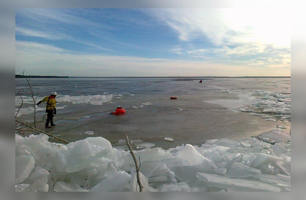 09.03.2014 Narva veehoidlal aset leidnud veeõnnetus