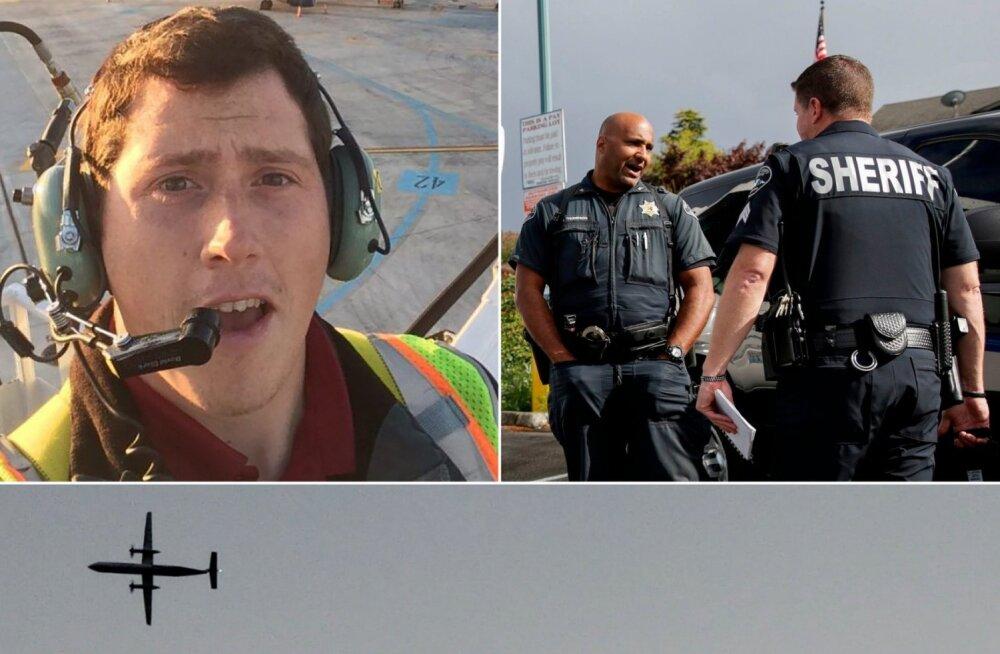 Сотрудник аэропорта Сиэтла угнал авиалайнер и разбил его. Как это произошло?