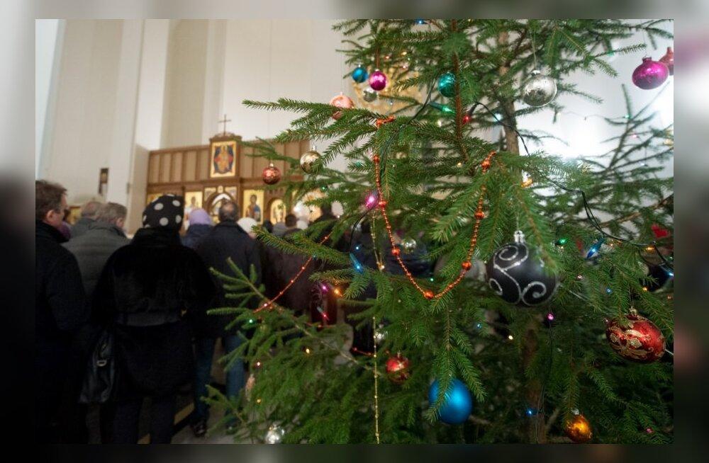 Jõululaupäeva jumalateenistus Lasnamäe kirikus