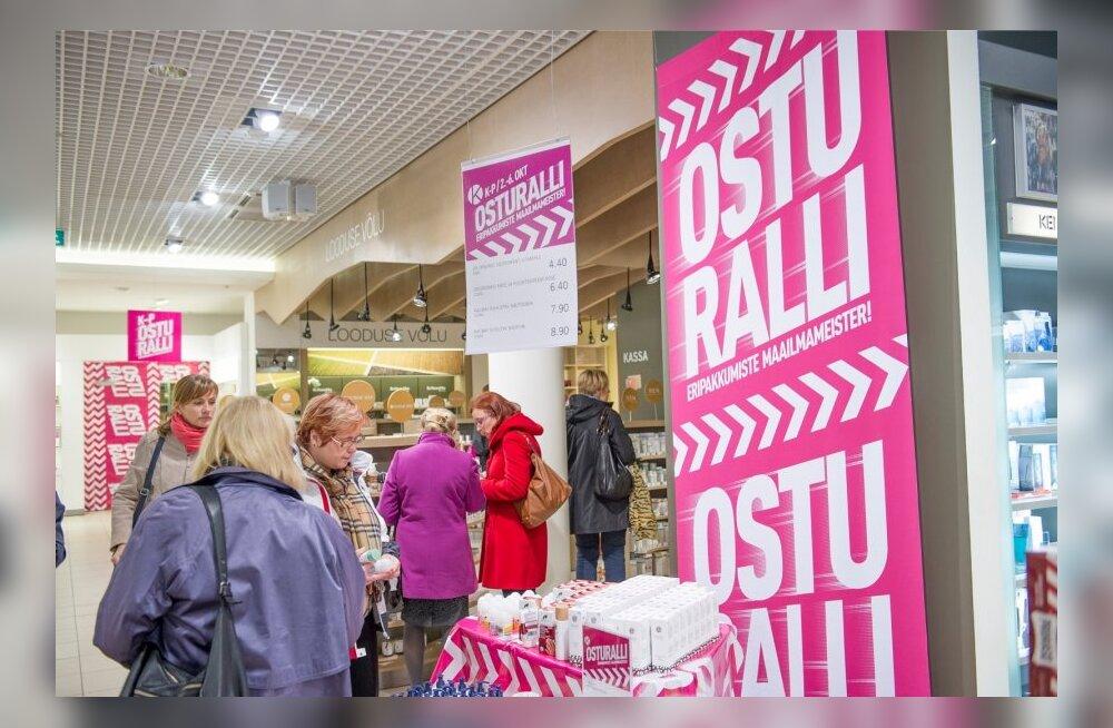 Osturalli Tallinna Kaubamajas