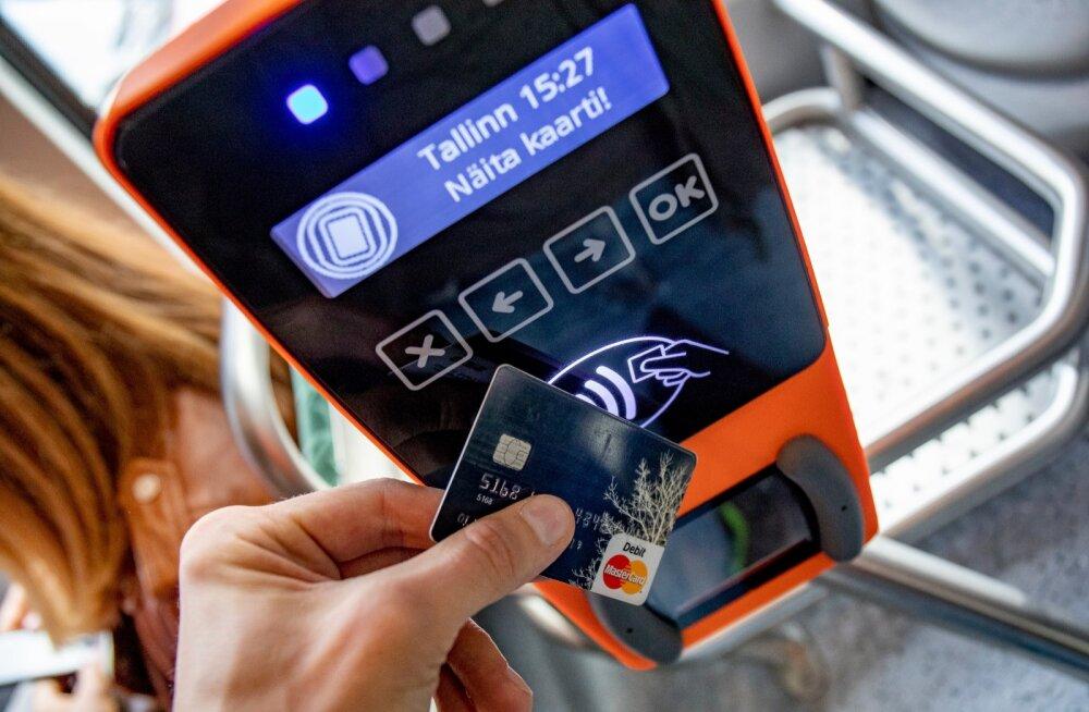 Pangakaart ja validaator