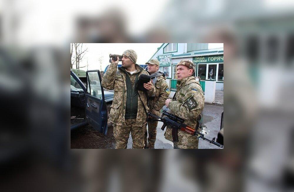 DELFI UKRAINAS: Štšastjas ja Stanõtsja Luganskas relvarahu ei olnud