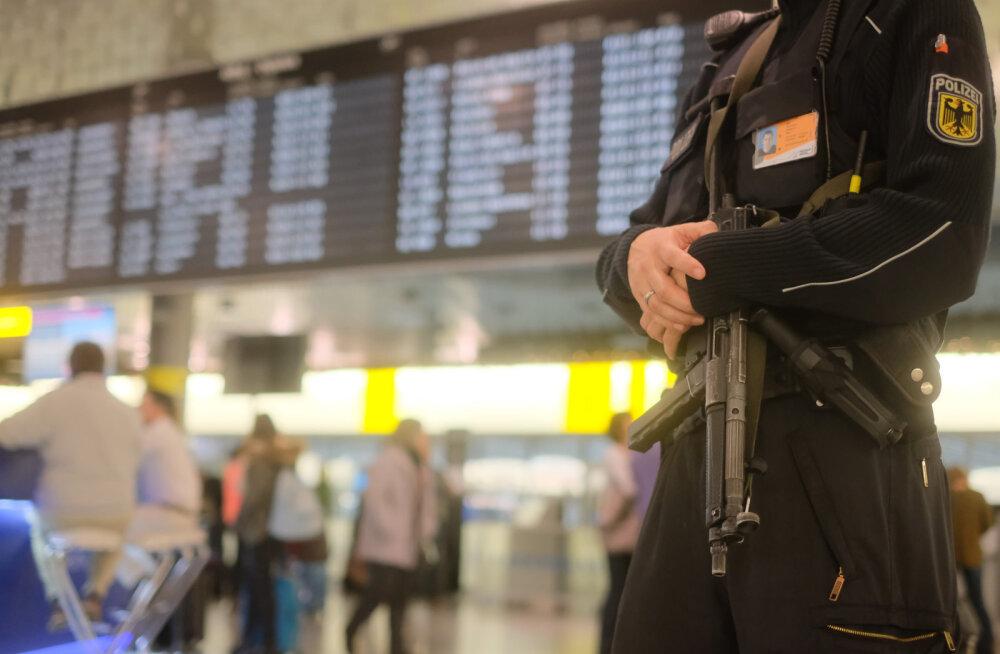 Hannoveri lennujaam suleti auto lennuväljale tungimise tõttu