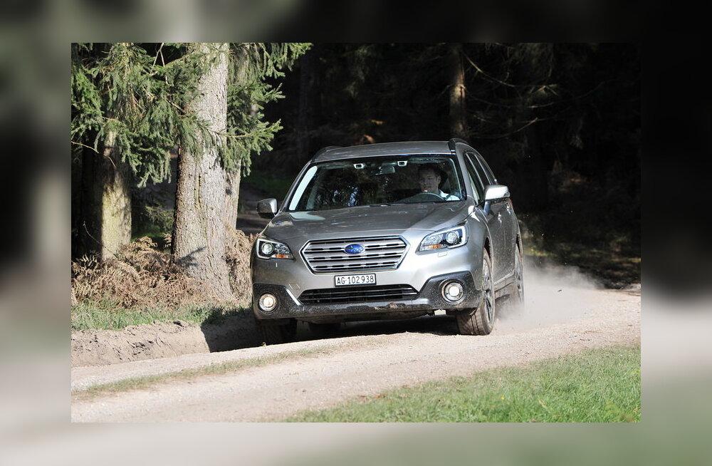 Sobib rahvaautoks küll: Uus Subaru Outback, moodne ja turvaline
