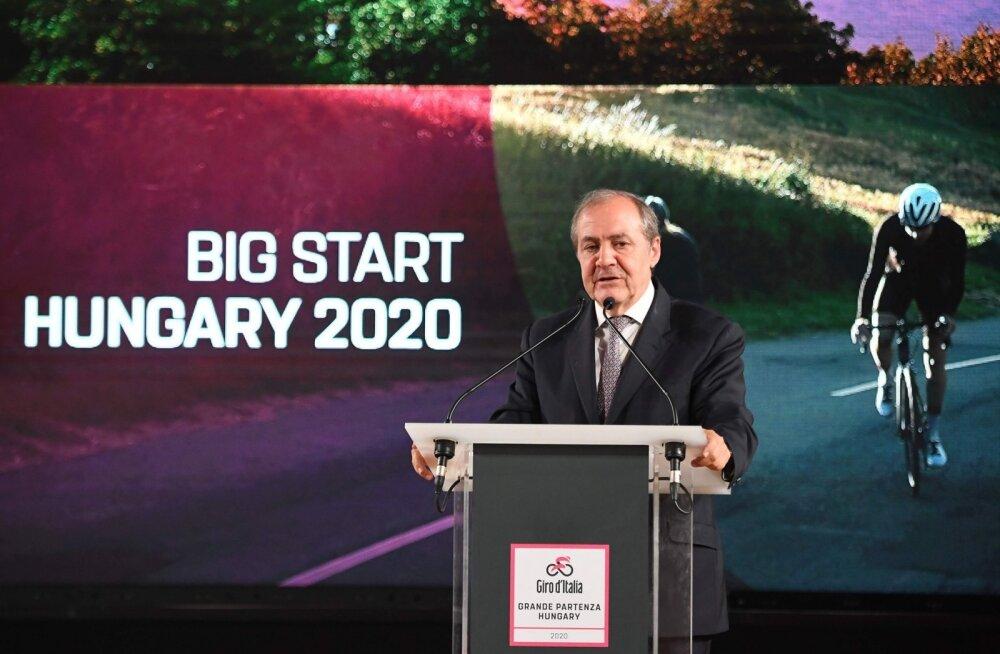 2020. aasta Giro d'Italia stardib Budapestist