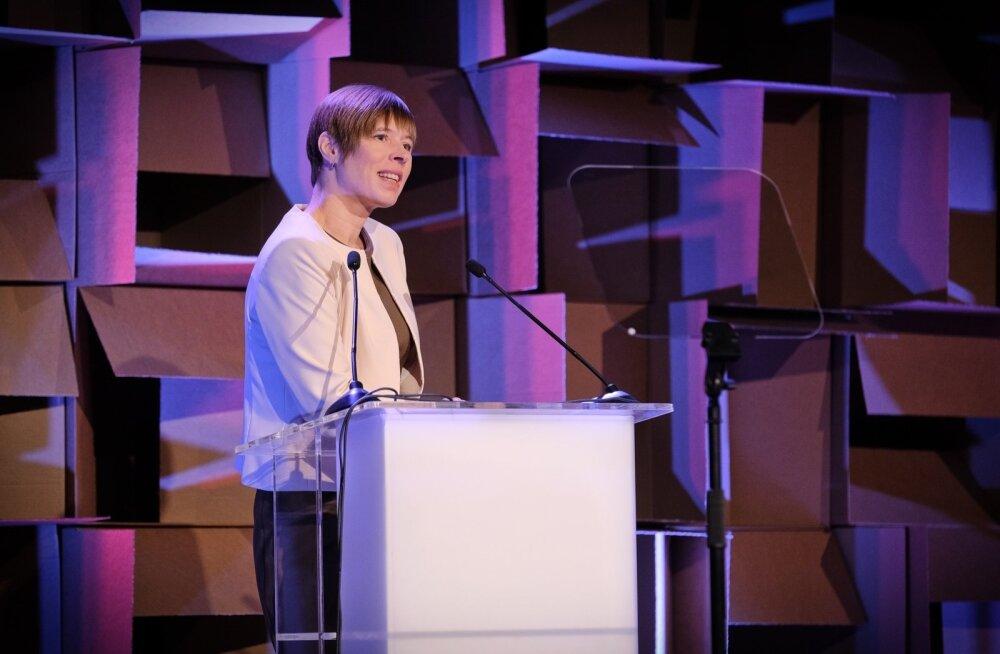 Kersti Kaljulaid esinemas TEDx Lasnamäel
