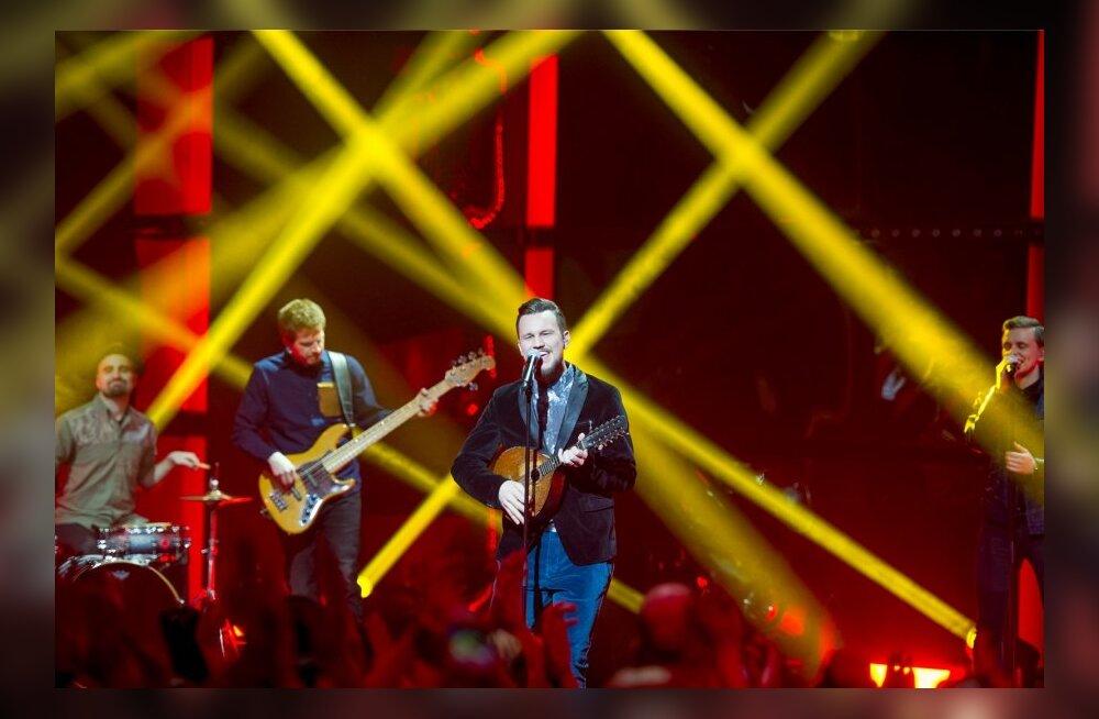 Eesti laul 2014 2 poolfinaali läbimäng
