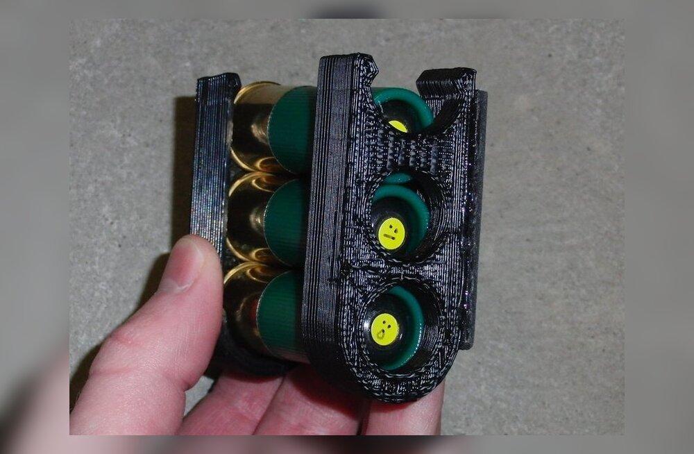 Failid 3D-prinditavale relvale osutusid nii popiks, et need pidi netist eemaldama!