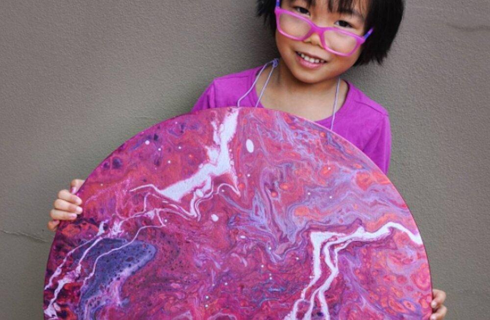 IMELAPS! 5-aastane tüdruk päästab kunstiga maailma