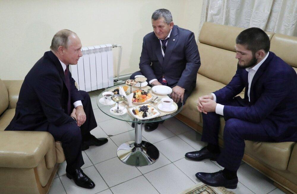 Vladimir Putin tundis Habib Nurmagomedovi üle suurt uhkust.