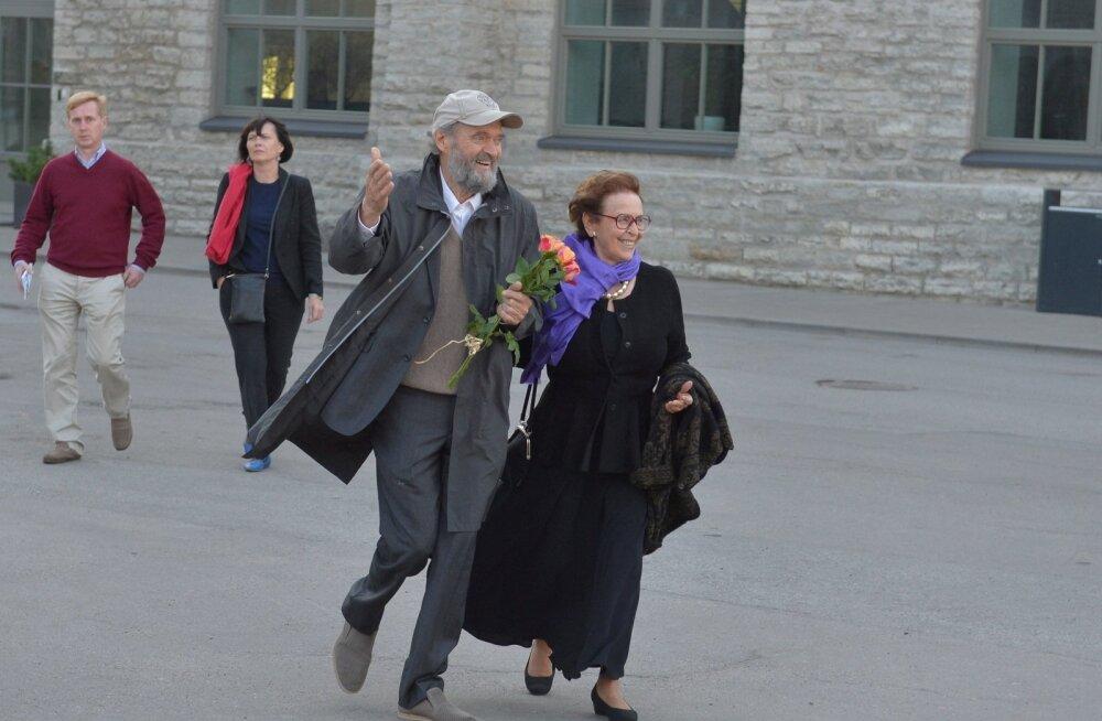 FOTOD: Arvo Pärdi 80. juubelile pühendatud kontserdile saabusid poliitikud, kultuurihinged ja sünnipäevalaps isiklikult