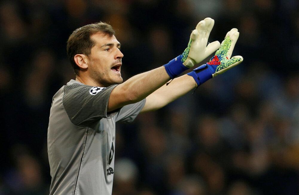 Hispaania jalgpallilegend Iker Casillas sai südamerabanduse