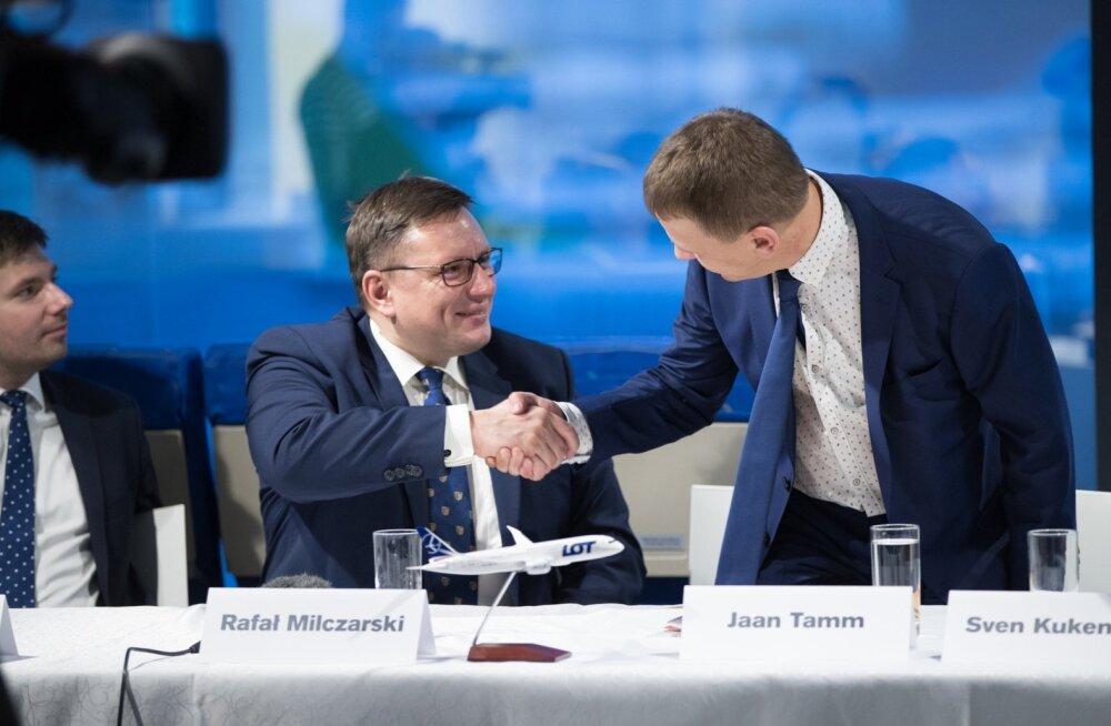 Nordica ja LOT-i pressikonverents