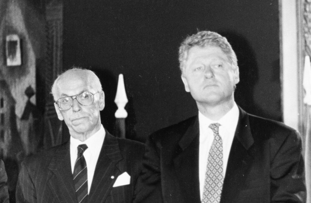 LENNART MERI, BILL CLINTON