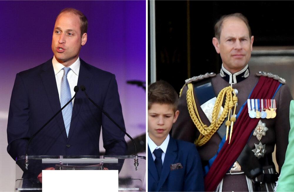 Kuninglikud keerdkäigud! Miks olenes prints Williami tiitel hoopis tema vähemtähtsast onust?