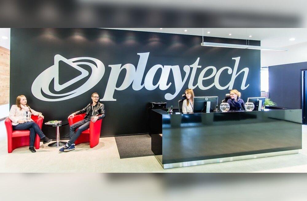 Playtechi kontor, kus iga töötaja tunneb end koduselt