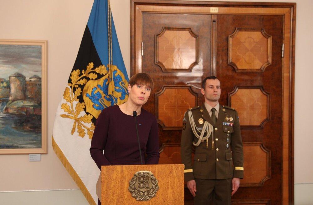 OTSEBLOGI JA FOTOD   Tõetund: president Kersti Kaljulaid ei kuuluta pensionireformi seadust välja. Ta saadab selle tagasi riigikokku