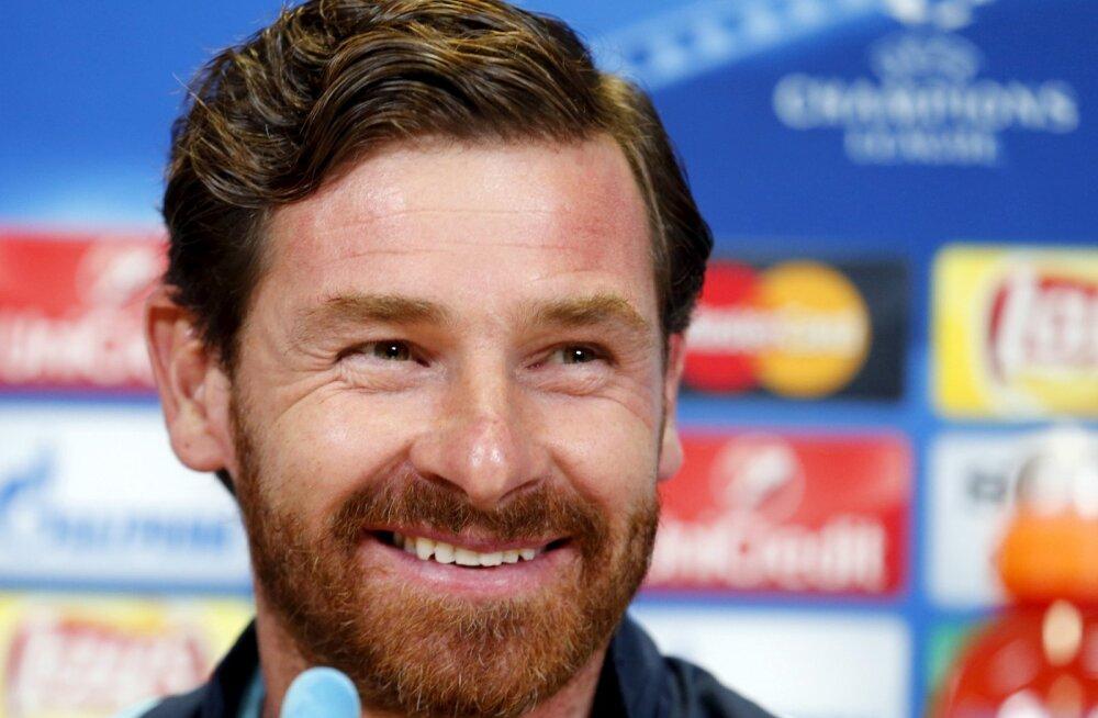 Endine Tottenhami loots Andre Villas-Boas stardib Dakari rallil