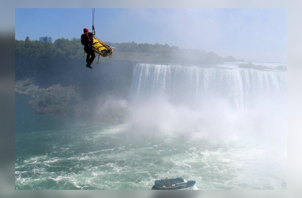 Попытки преодолеть Ниагарский водопад.
