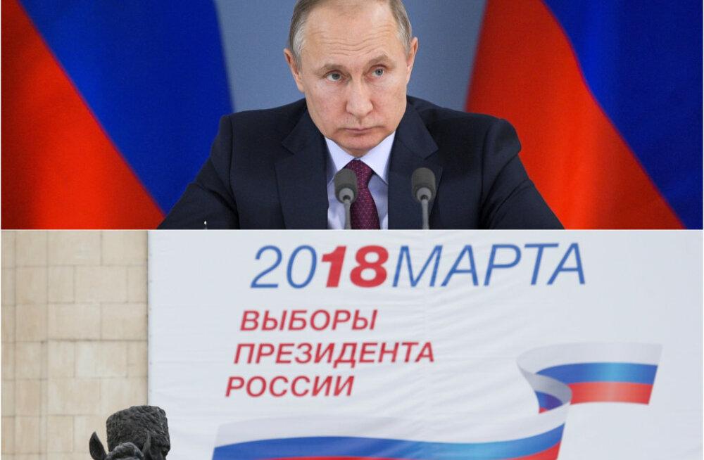 DELFI PETERBURIS | Kas venelased usuvad, et keegi võib presidendivalimistel Putini troonilt kukutada? Miks hääletamisele käega lüüakse?