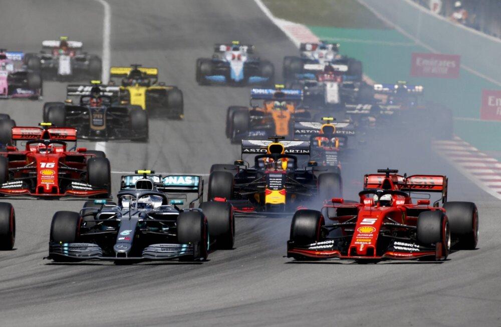 Vormel 1 sarja võistlusformaat võib 2020. aastal oluliselt muutuda