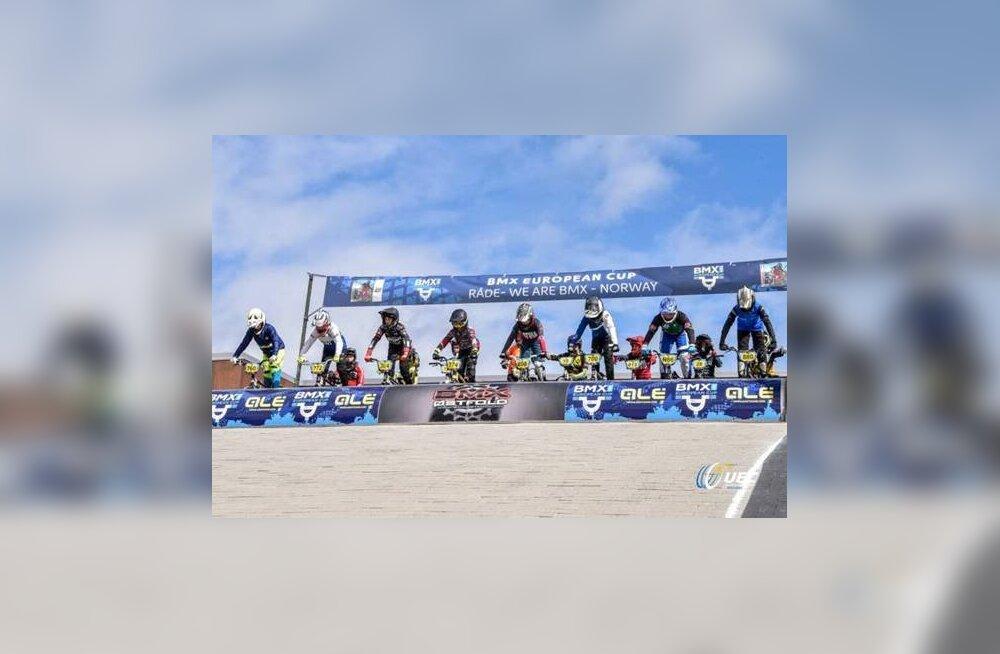 Eesti noored BMX-sõitjad tegid Euroopa karikasarjas häid tulemusi