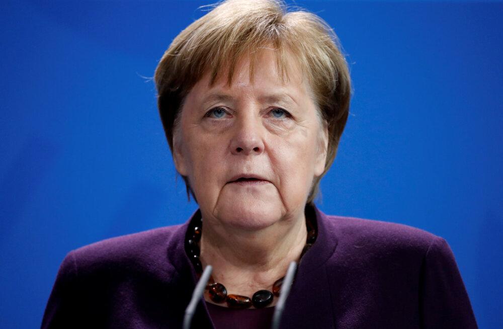 Merkel Hanau terrorirünnakust: rassism on mürk, vihkamine on mürk