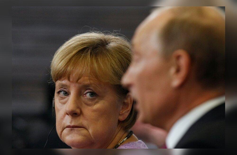 Putin ja Merkel