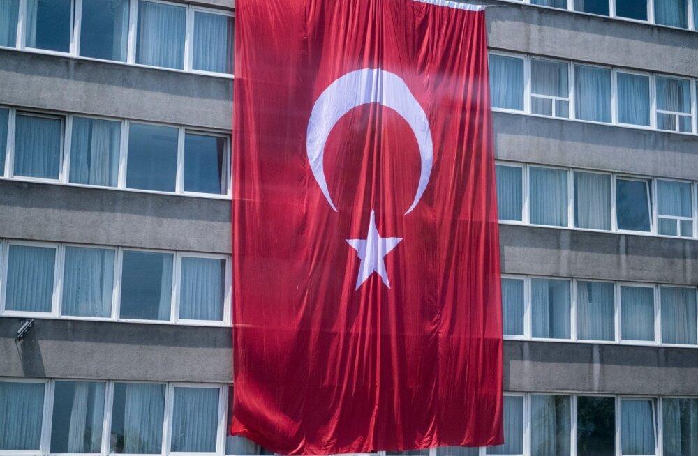 Istanbuli tänavapilt 17.07.2016