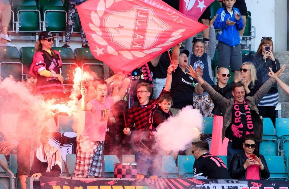 Nõmme Kalju fännid võivad Glasgow' Celticu poolehoidjatega võidu laulda Lilleküla staadionil.