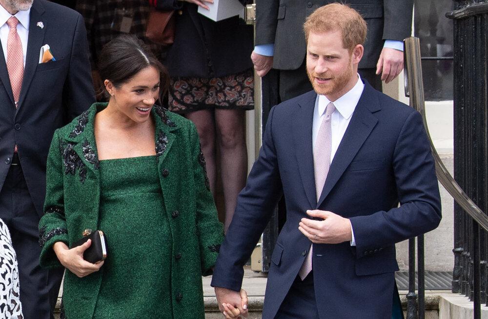 Mis toimub? Kuninganna käis vaikselt Meghan Markle'il ja prints Harryl külas
