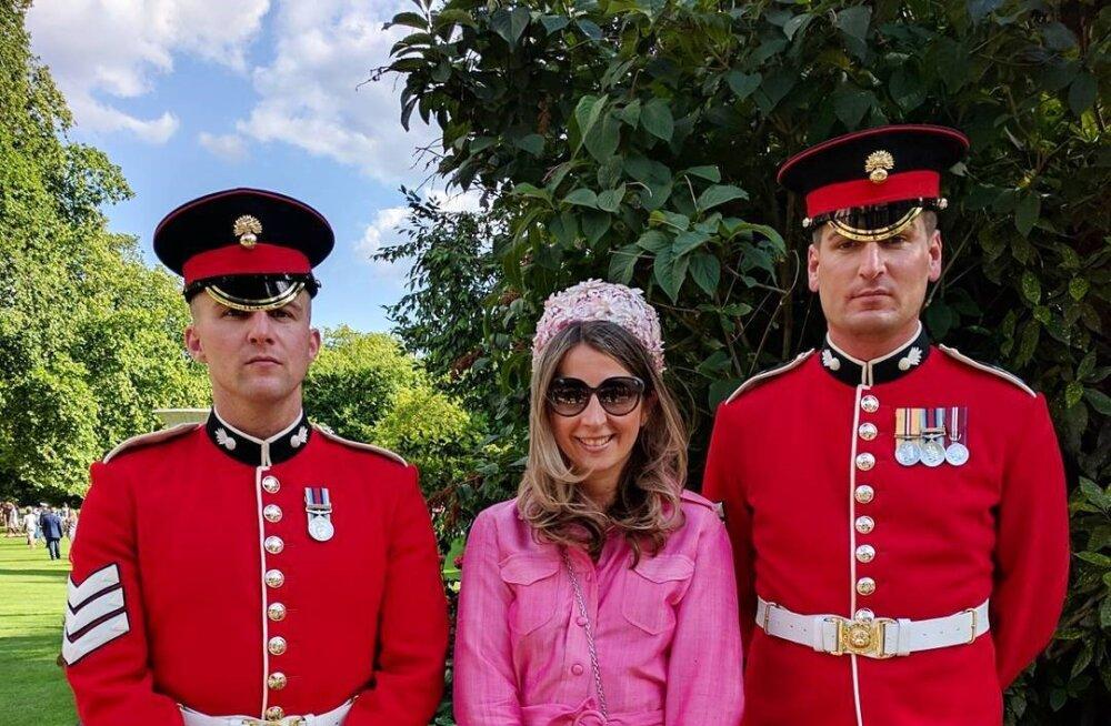 Kriss Soonik sai uhke kutse kuninganna aiapeole