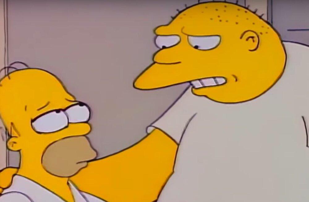 """""""Simpsonite"""" episood Michael Jacksonist eemaldati"""