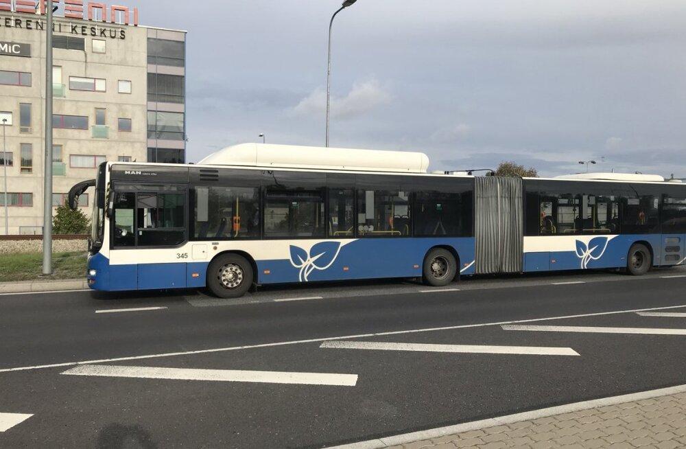 Tallinnas peeti kinni napsutanud bussijuht. Bussis oli sel hetkel paarkümmend reisijat