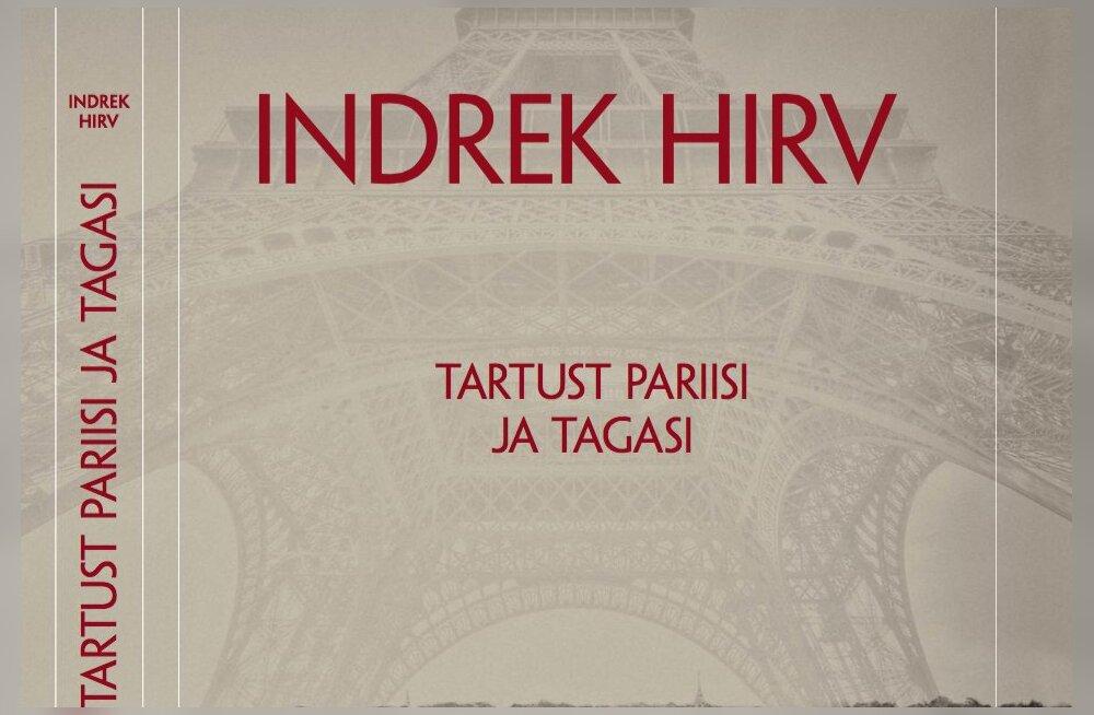 """Indrek Hirvelt ilmus reisi- ja kunstiraamat """"Tartust Pariisi ja tagasi"""""""