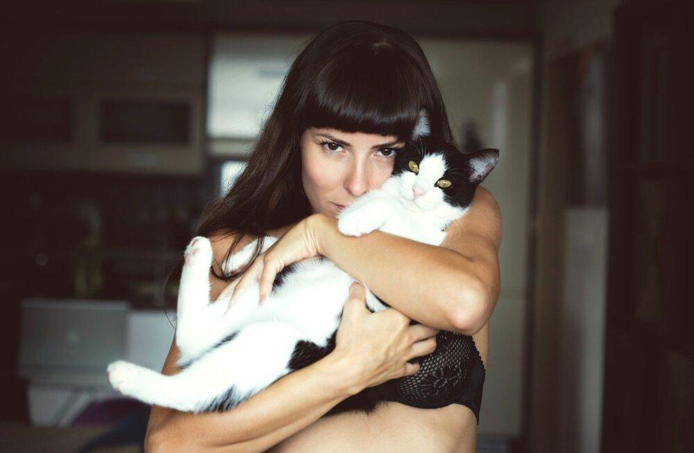 Miks tasub olla kassinaine: uuringud näitavad, et naissoost kassiomanikel on lemmiku omamisest kõige enam kasu