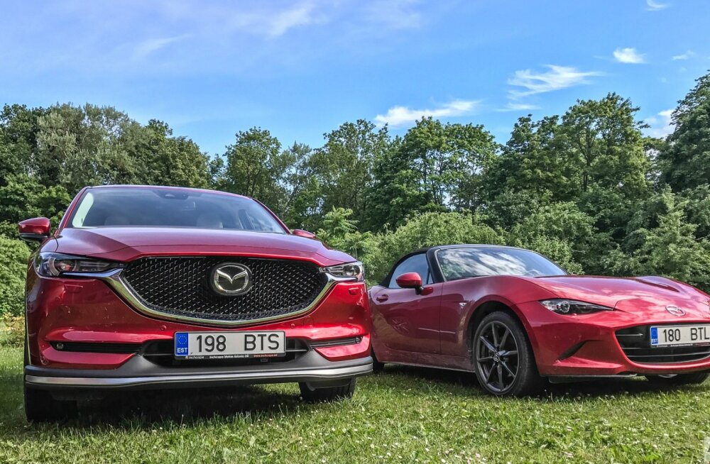 PROOVISÕIT: Mazda CX-5 - isegi kapoti all on kõik suurepäraselt läbi mõeldud