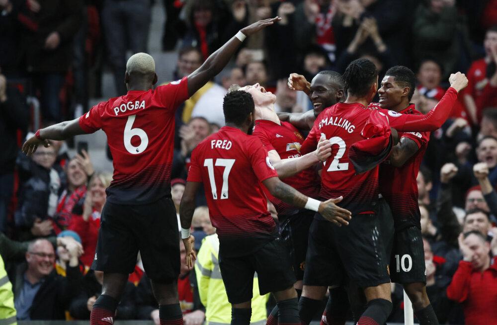 Tottenham tegi Arsenali vastu hooaja esimese viigi, Manchester United alistas põnevuskohtumises Southamptoni