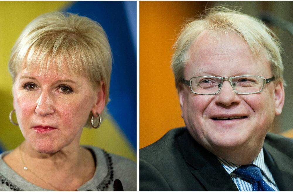 Ministrid: Rootsi kaitsepoliitika nurgakivi on sõjalistesse liitudesse mittekuulumine