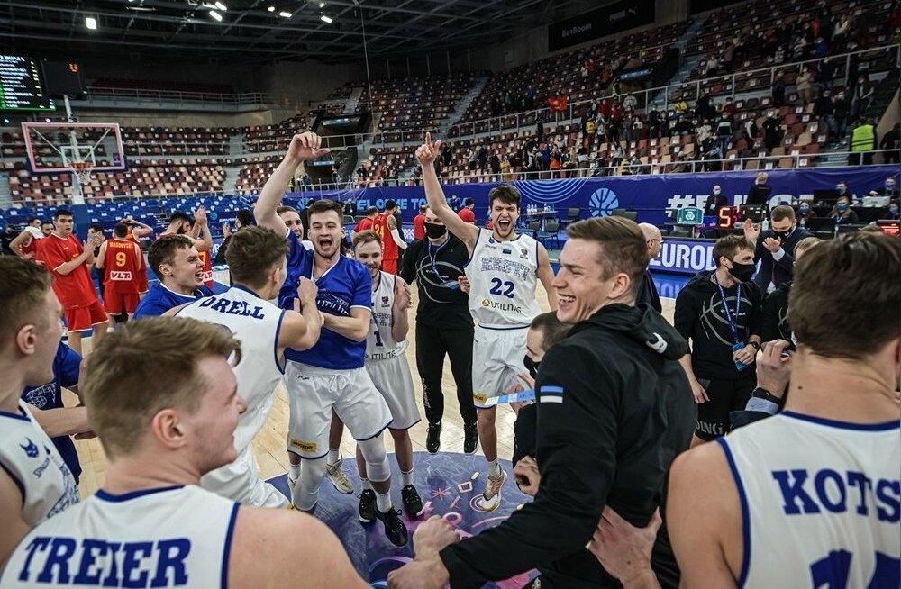 Eesti korvpallikoondise rõõmupidu