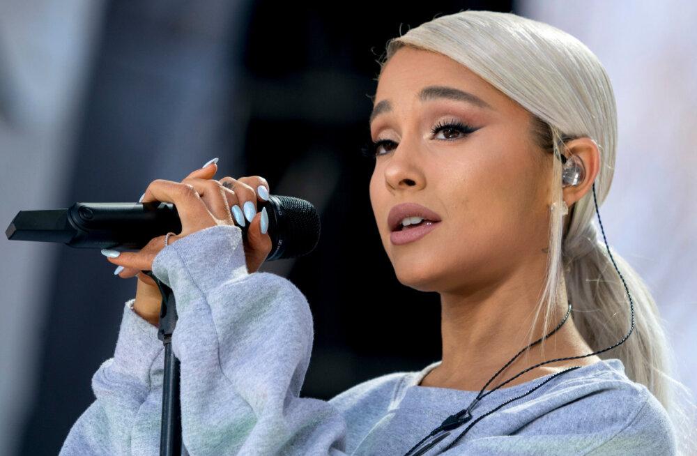 Vaeseke! Raskete sündmuste stress: Ariana Grande hakkas laval nutma