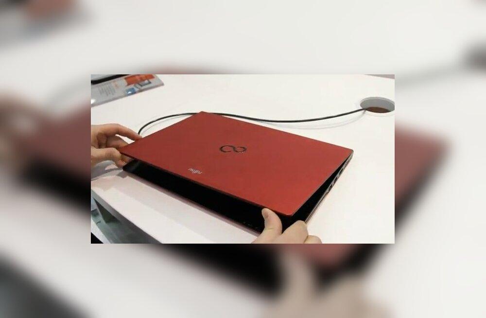 CeBIT 2012 VIDEO: Fujitsu magneesiumsulamist korpusega õhuke sülearvuti Lifebook