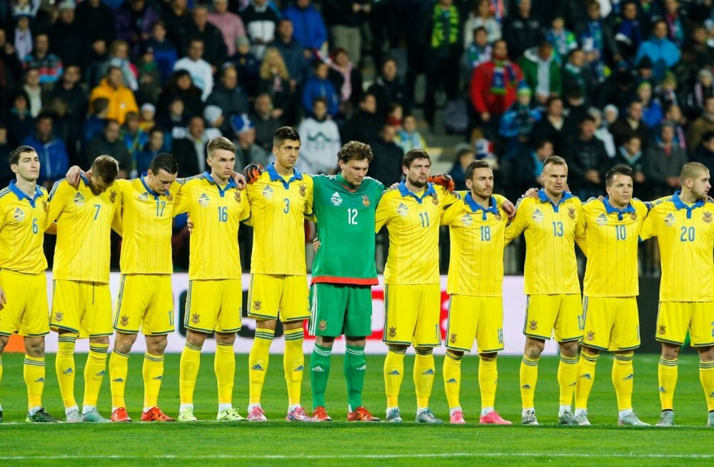Ukraina jalgpallikoondis