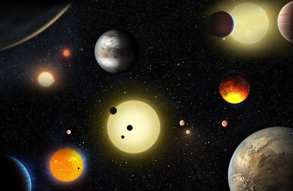 NASA värske raport: avastatud on 219 uut planeedikandidaati, 10 neist võivad olla eluks kõlbulikud